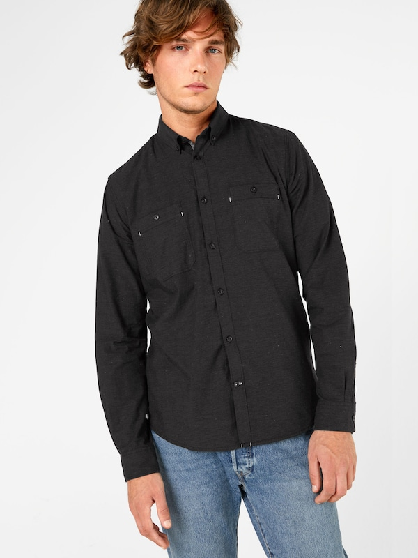 TOM TAILOR Casual Hemd 'Floyd cool melange shirt'