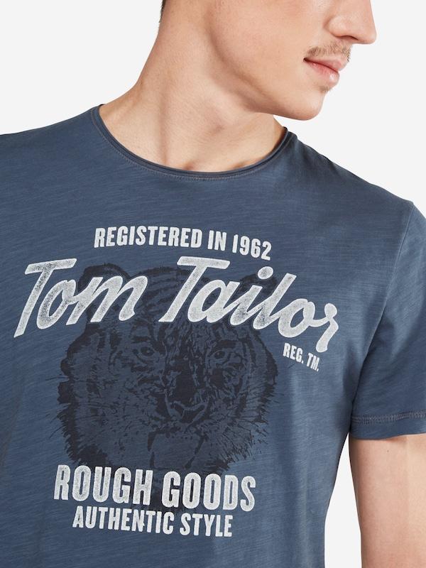 TOM TAILOR T-Shirt 'basic slub NOS'