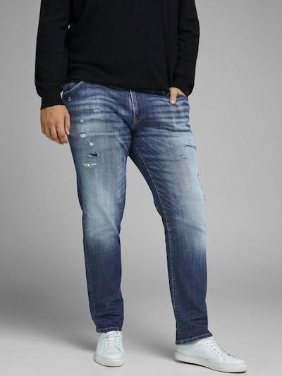 JACK & JONES Jeans in de kleur Blauw: Vooraanzicht