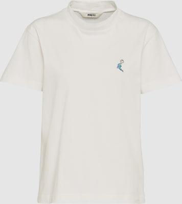 Wemoto Shirt 'Dolphin' in Wit