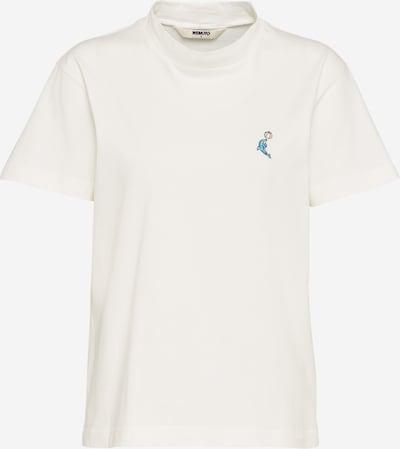 Wemoto T-Shirt 'Dolphin' in weiß, Produktansicht