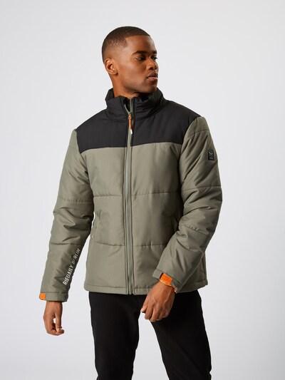Žieminė striukė 'Step Em' iš Iriedaily , spalva - alyvuogių spalva / juoda: Vaizdas iš priekio