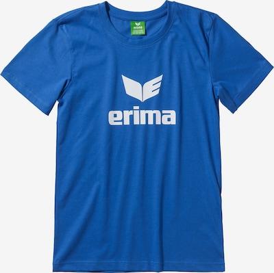 ERIMA T-Shirt in blau / weiß, Produktansicht