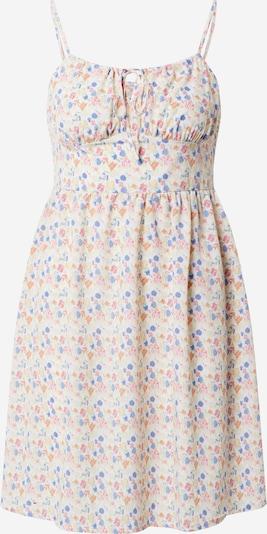 NA-KD Letnia sukienka w kolorze pastelowy niebieski / pastelowo-żółty / zielony / pastelowy pomarańczowym: Widok z przodu
