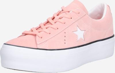CONVERSE Sneaker 'One Star Platform - OX' in koralle / weiß, Produktansicht