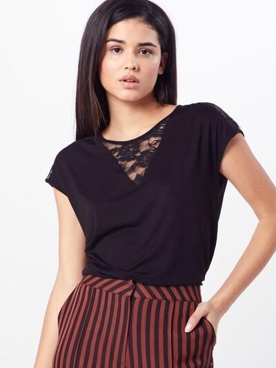 ABOUT YOU Shirt 'Iris' in schwarz: Frontalansicht