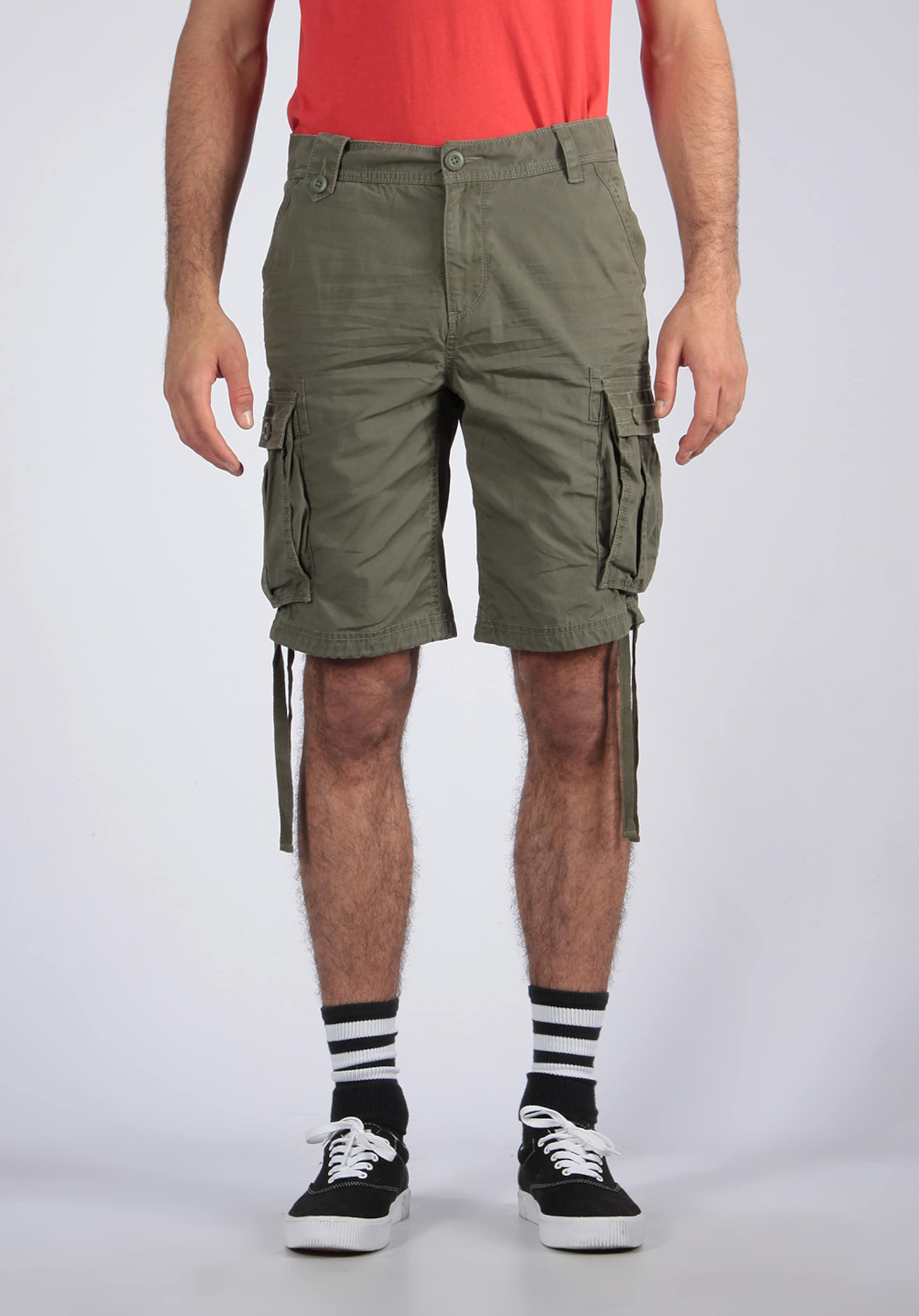 'korge' Shorts Kaporal Khaki Kaporal In 13KTlFJc