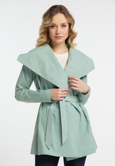 DREIMASTER Mantel in grün, Modelansicht