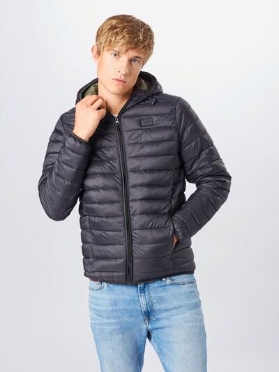 BLEND Přechodná bunda 'Outerwear' - námořnická modř: Pohled zepředu