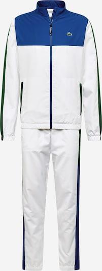 Treniruočių kostiumas 'Taffetas Diamante' iš Lacoste Sport , spalva - balta, Prekių apžvalga