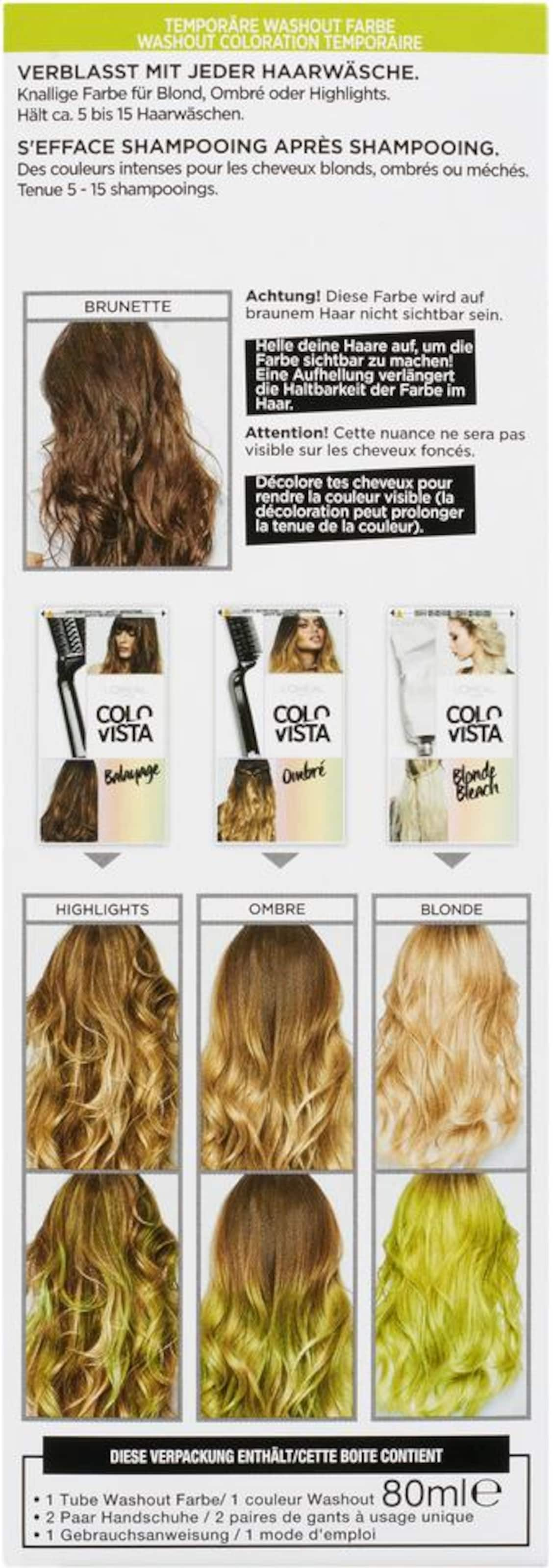 L'Oréal Paris COLOVIS WASHOUT 15 Suche Nach Günstiger Online Aberdeen Billig Für Billig HKZypq2h