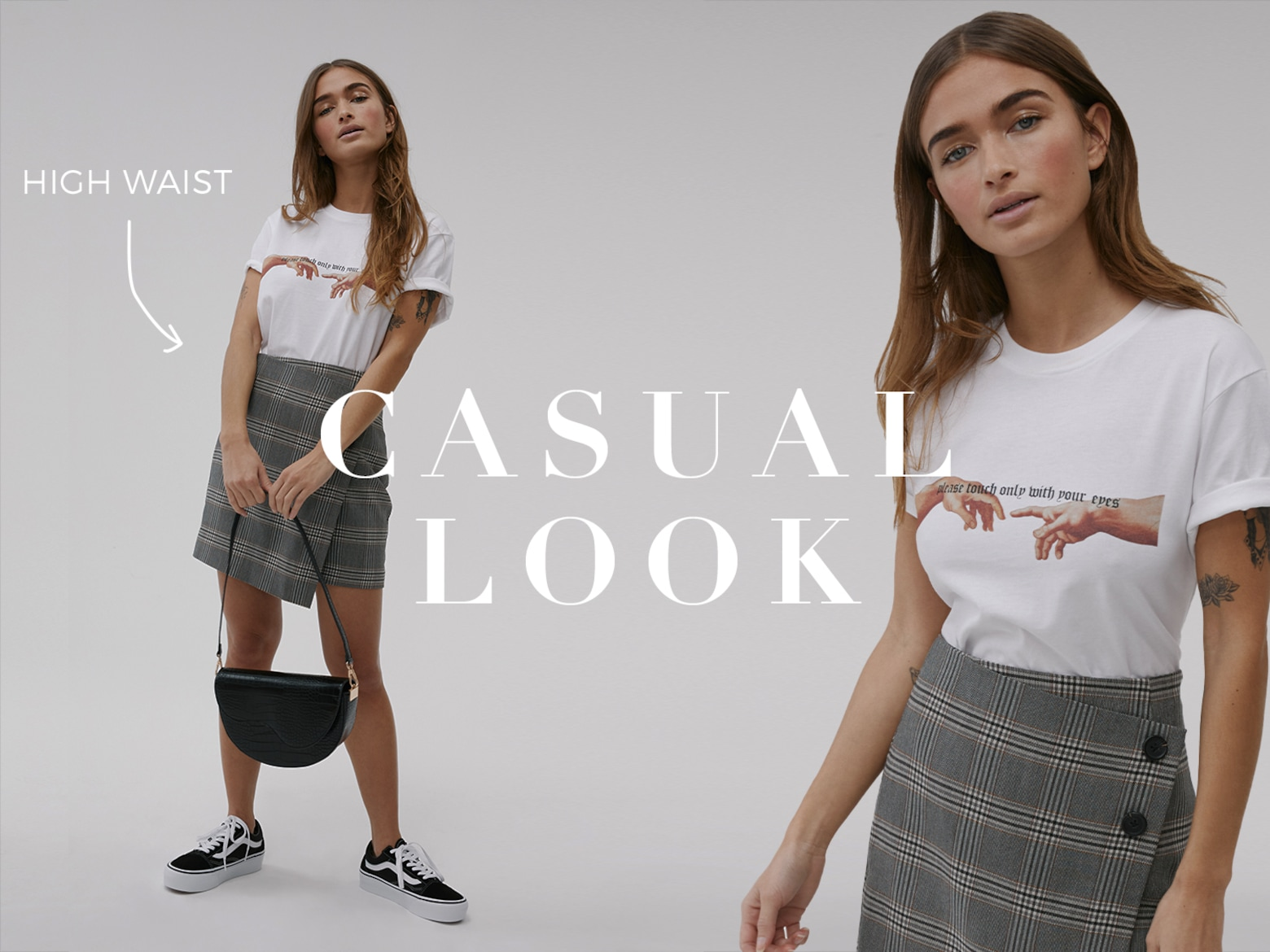 Jeff - Casual Skirt Look
