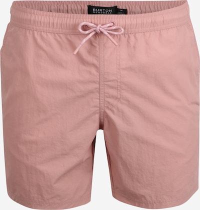 BURTON MENSWEAR LONDON Badeshorts in rosa, Produktansicht