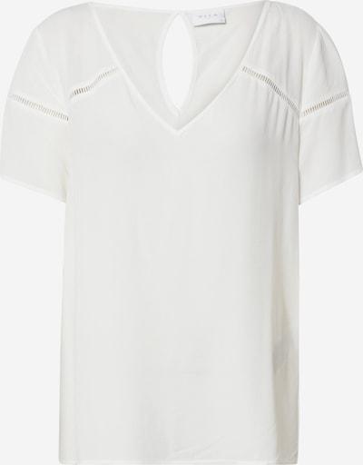 Bluză 'MERO' VILA pe alb, Vizualizare produs