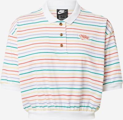 Nike Sportswear T-shirt en mélange de couleurs / blanc, Vue avec produit