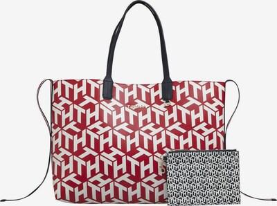TOMMY HILFIGER Tasche in navy / rot / schwarz / weiß, Produktansicht