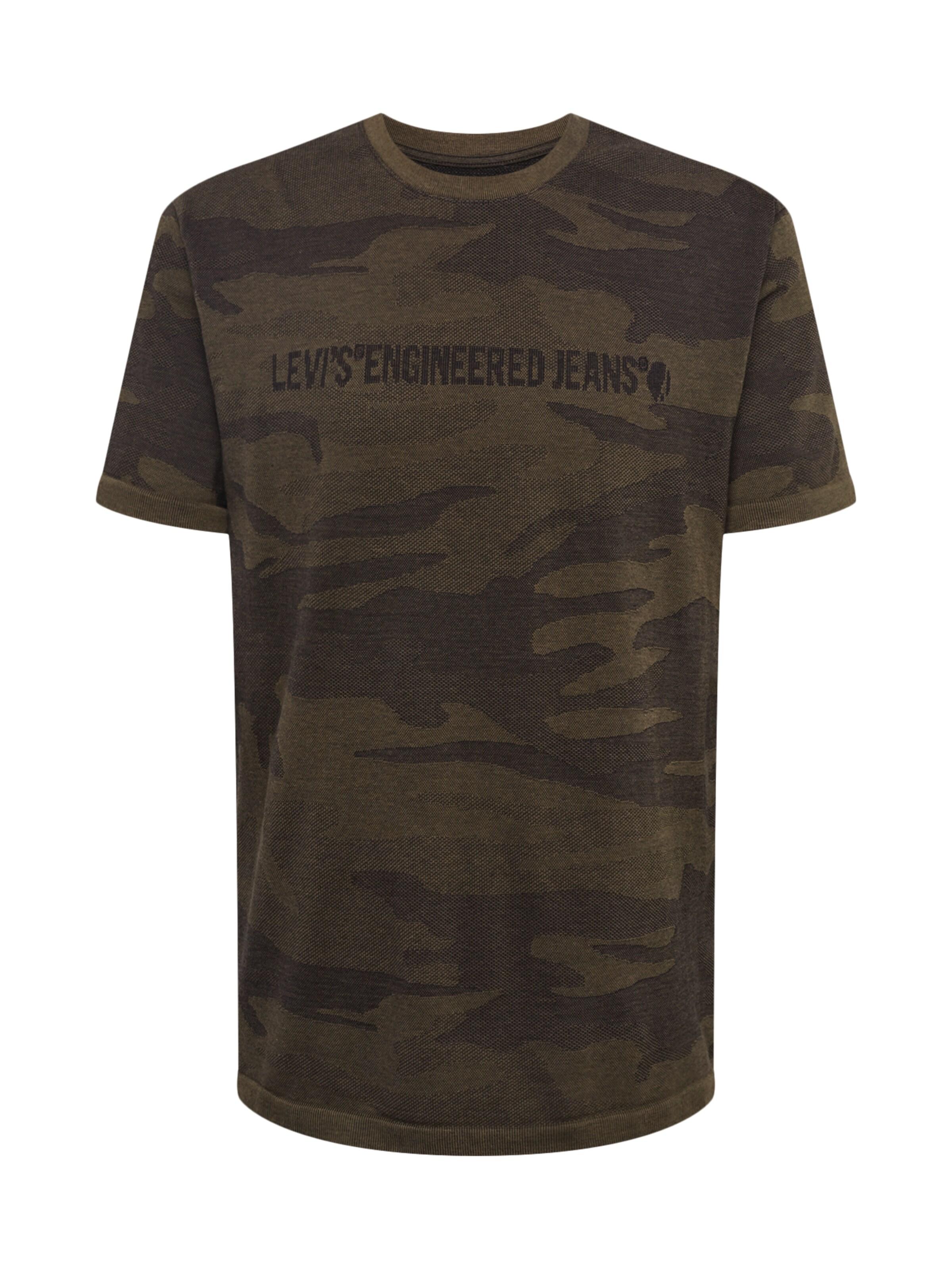 In Dunkelgrün Shirt Levi's 'lekteelek' cJ3F5TKul1