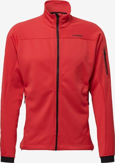 ADIDAS PERFORMANCE Funktionele fleece-jas in de kleur Lichtrood, Productweergave