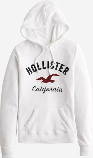 Bluză de molton HOLLISTER pe alb, Vizualizare produs