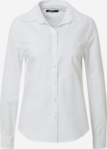 Gina Tricot Μπλούζα 'Jessie' σε λευκό