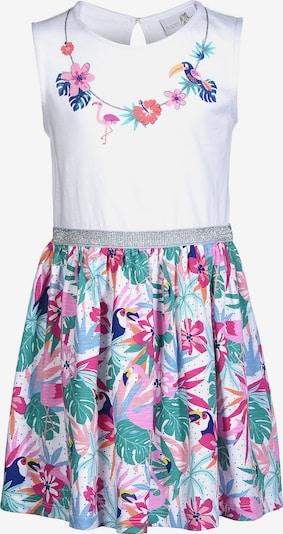 happy girls Kleid in mischfarben / weiß, Produktansicht