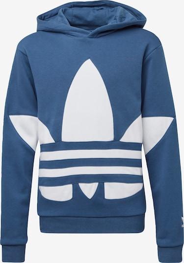 ADIDAS ORIGINALS Hoodie in blau / weiß, Produktansicht