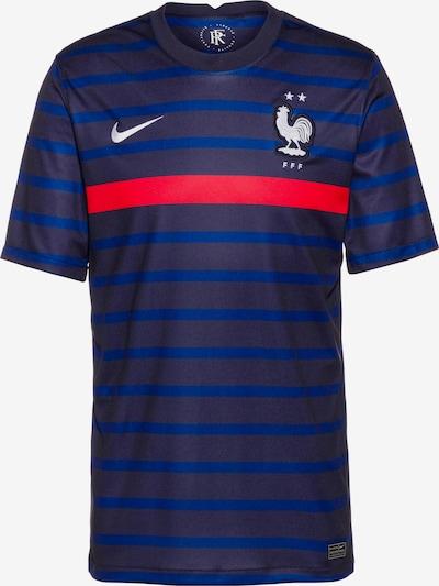 NIKE Fußballtrikot 'Frankreich 2021' in blau / dunkelblau / melone / schwarz / weiß, Produktansicht