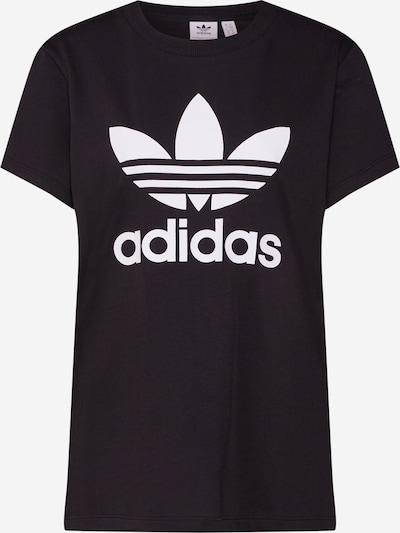 Marškinėliai 'Boyfriend' iš ADIDAS ORIGINALS , spalva - juoda / balta, Prekių apžvalga