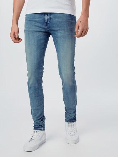 DIESEL Jeans 'D-AMNY-X' in blue denim, Modelansicht
