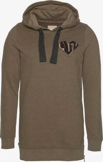 OCEAN SPORTSWEAR Sweatshirt in khaki / schwarz, Produktansicht