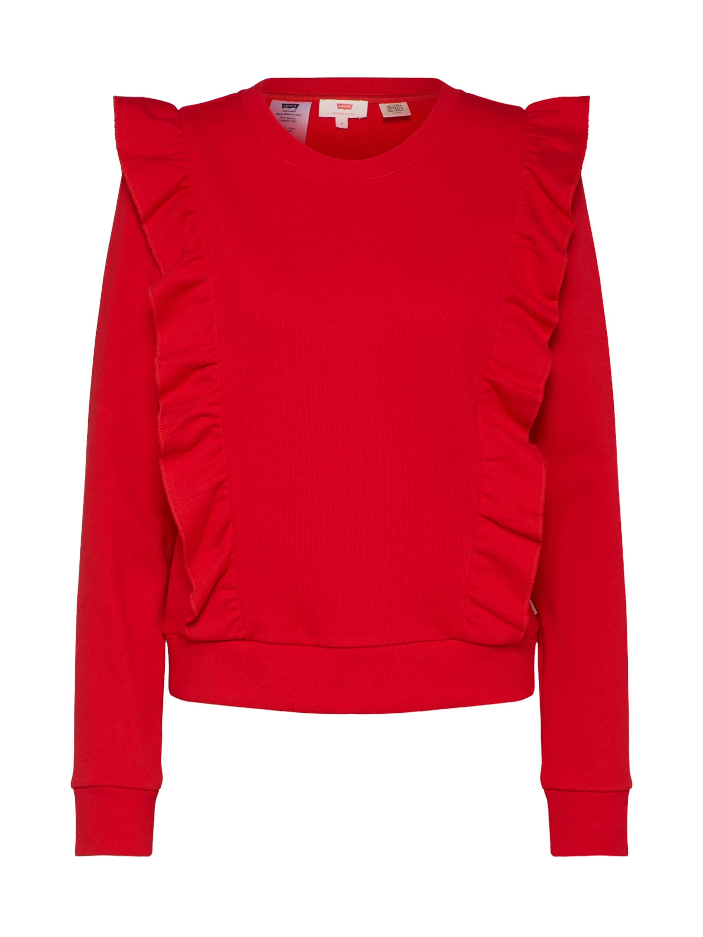 Rouge shirt 'jolie' Levi's En Sweat S34RAq5jLc