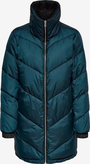 ONLY Lange Stepp Jacke in blau, Produktansicht