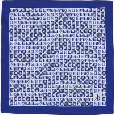 Jacques Britt Einstecktuch in blau / weiß, Produktansicht