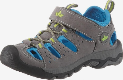 LICO Sandale 'Mike' in blau / grau, Produktansicht