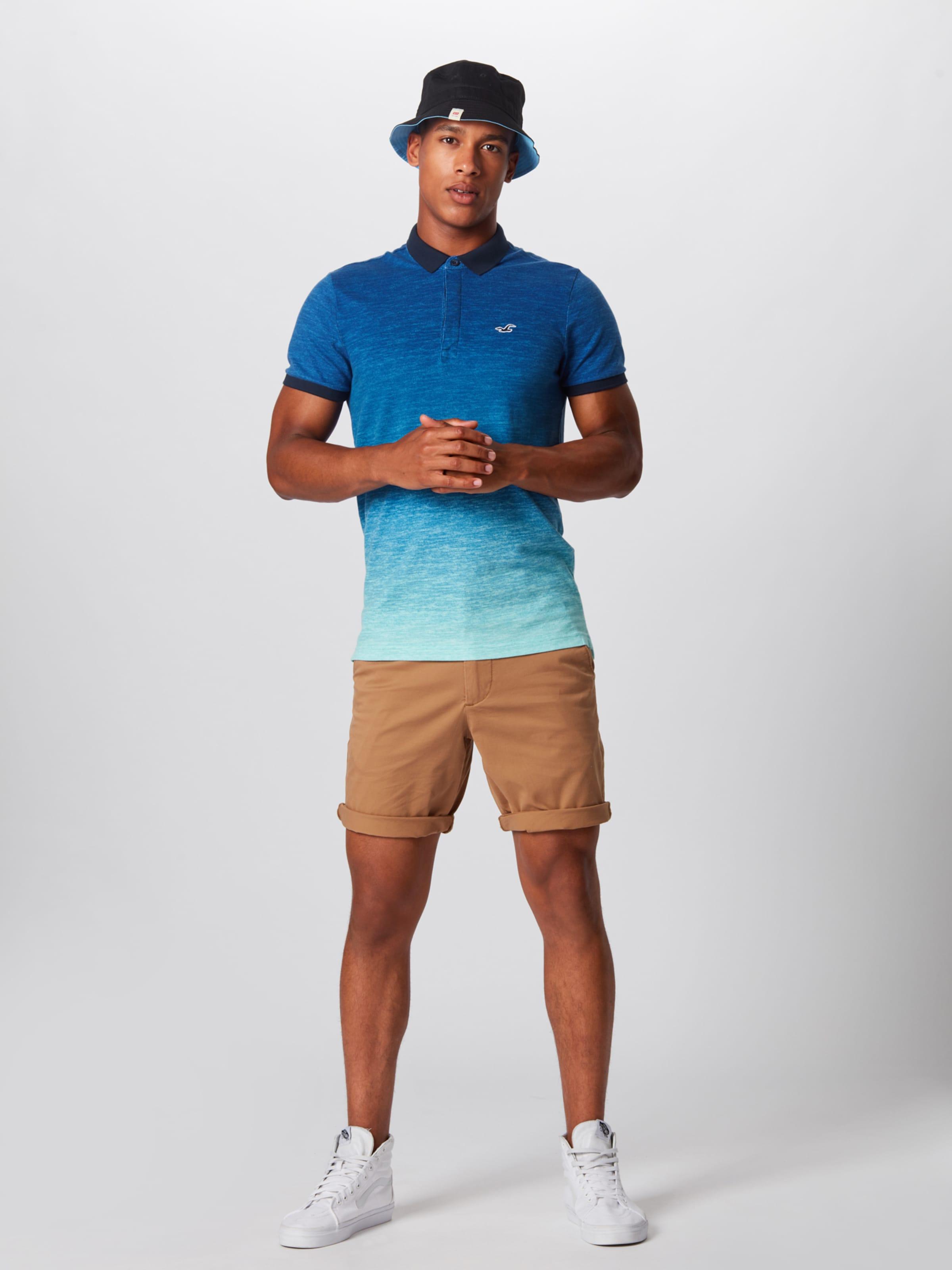 T En Bleu shirt Marine Hollister bg6Yyf7