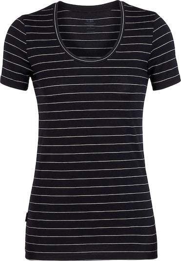 Icebreaker T-Shirt in schwarz / weiß, Produktansicht