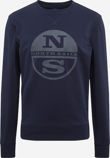 North Sails Sweatshirt 'ROUND NECK W/GRAPHIC' in navy, Produktansicht