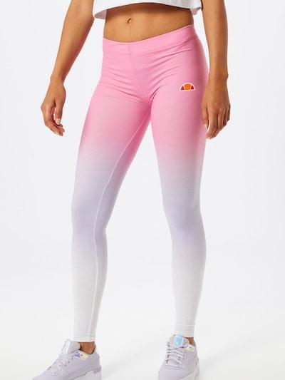 vegyes színek / rózsaszín / fehér ELLESSE Leggings 'Solos 2', Modell nézet