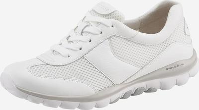 GABOR Sneaker in weiß: Frontalansicht