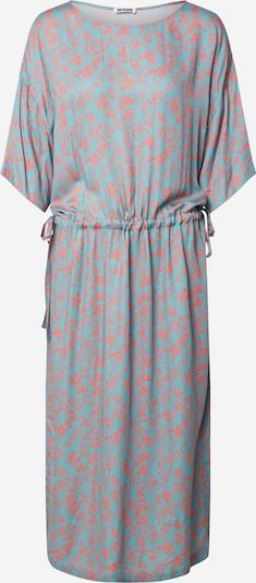 DRYKORN Kleid 'TAMASHA' in grau / rot, Produktansicht