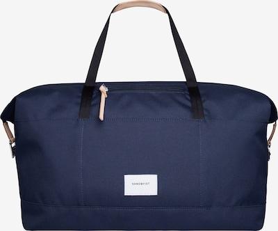 SANDQVIST Reisetasche 'MILTON' in navy, Produktansicht