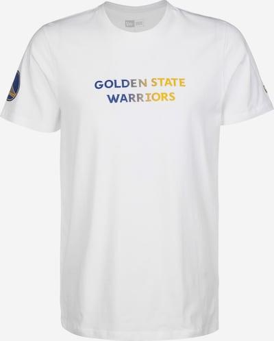 NEW ERA T-Shirt 'NBA Gradient Wordmark Golden State Warriors' in mischfarben / weiß, Produktansicht