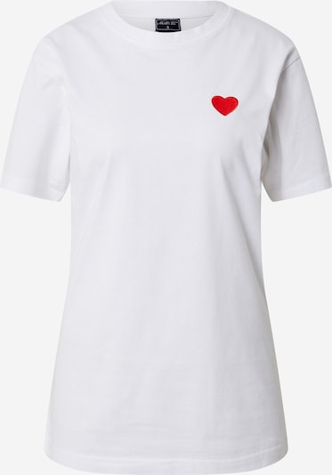 Mister Tee Shirt 'Heart' in red / black / white, Item view