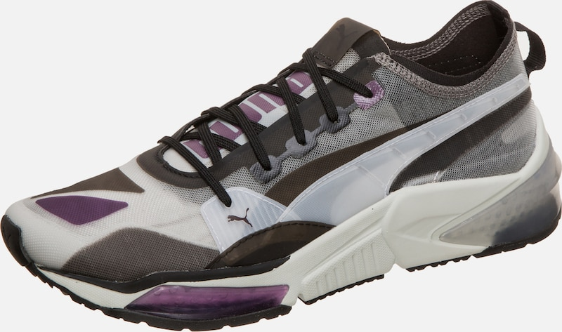 PUMA Sneaker 'LQDCELL Optic Sheer' in grau / lila / weiß, Produktansicht