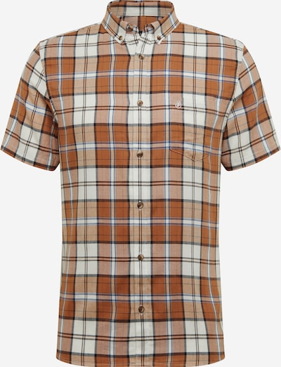 BURTON MENSWEAR LONDON Hemd 'GINGER' in beige / braun / orange, Produktansicht