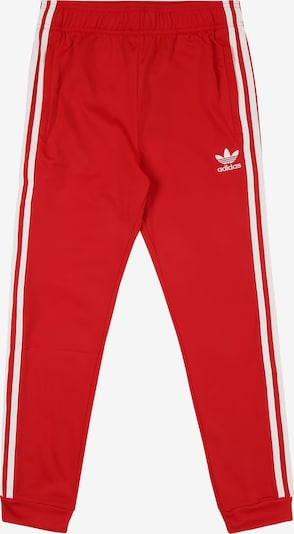 ADIDAS ORIGINALS Hose 'SUPERSTAR' in rot, Produktansicht