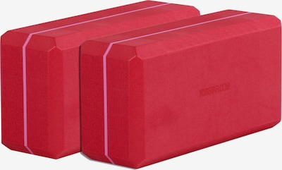 YOGISTAR.COM Yogablock-Set 'Yogiblock Basic' in rot, Produktansicht