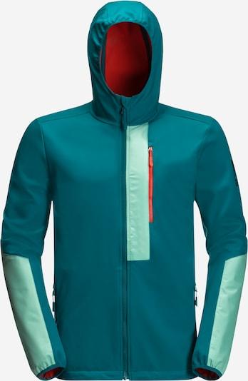JACK WOLFSKIN Sportovní bunda '365 RACER SOFTSHELL M' - aqua modrá / petrolejová, Produkt