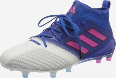 ADIDAS PERFORMANCE Fußballschuh in blau / pink / weiß: Frontalansicht