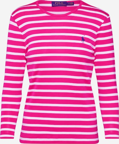 POLO RALPH LAUREN Shirt in de kleur Pink / Wit, Productweergave
